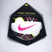 Nike Strike Catalyst Soccer Ball Sc2356-161 Size 5 White / Pink Blast / Yellow