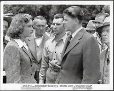 Ronald Reagan LOT 3 Original 1940s Photos Stallion Road Alexis Smith