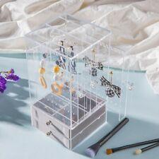 Clear Acrylic Earring Display Stand Jewelry Organiser Box Holder Storage Rack