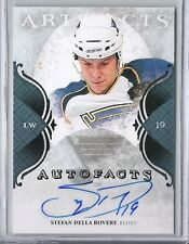11-12 2011-12  ARTIFACTS STEFAN DELLA ROVERE AUTOFACTS AUTOGRAPH AUTO SD BLUES