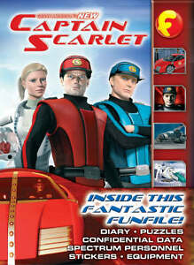Captain Scarlet Funfax by Penguin Books Ltd (Other printed item, 2006). New.