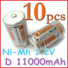 10 D 11000mAh Ni-Mh 1.2V rechargeable battery ULTRACELL