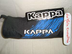 KAPPA TROUSSE FOURRE TOUT CYLINDRIQUE NOIR/BLEU  NEUVE