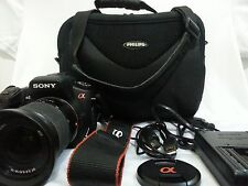 Sony Alpha DSLR-A200 Camera with bag
