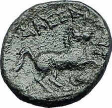 ALEXANDER III the GREAT 336BC LIFETIME Apollo Horse Ancient Greek Coin i58072
