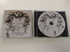 PAUL ROLAND IN MEMORIAM 1980-2010 - LIMITED EDITION CD 2010