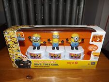 DESPICABLE ME 3, DAVE, TIM & CARL MINI MUSIC MATES, TARGET EXCLUSIVE, NEW IN BOX