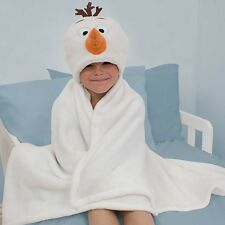 Disney Frozen Olaf Crystal One Size Cuddle Robe Brand New Gift