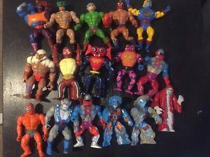 Vintage Mattel 1980's He-Man Masters of the Universe Lot of MOTU 16