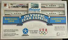 BACHMANN HO - 1992 USA Olympic Team Train Set - Mopar
