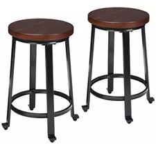 Ashley Furniture Signature Design - Challiman Bar Stool - Counter Height -...