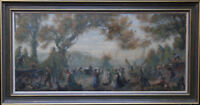 FRANKLYN WHITE BRITISH 1920'S LANDSCAPE OIL PAINTING ART SLADE 1892-1975