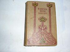 RUDYARD KIPLING - BARRACK ROOM BALLADS (RARE 1900's)