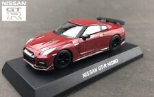 1/64 Kyosho Nissan Skyline GT-R GTR 35 R35 Nismo Diecast Minicar Red