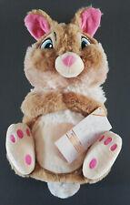 Disney Bambi Miss Bunny Wärmflasche mit Bezug 1L Hase Klopfer Plüschtier Primark