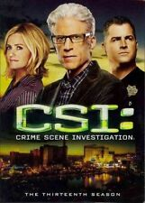 CSI Complete Thirteenth Season 0097361441443 DVD Region 1 P H
