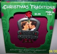 Christmas traditions collectible ornament just married NEW 2015 Gloria Duchin
