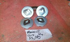 renault clio factory alloy wheel  centre cap x4 genuine part 07