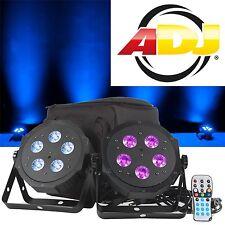 ADJ American DJ VPAR PAK LED Flat-PAR-Set! (2x PAR,1x Bag,1x IR-Fernbedienung)