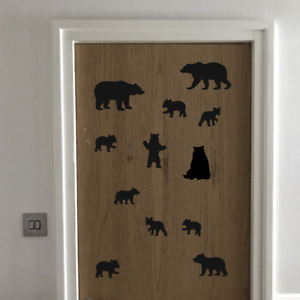 Bear Sticker Collection vinyl wall car self adhesive decal kids