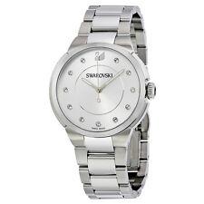 Swarovski City Silver Dial Stainless Steel Ladies Watch 5181632