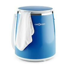 BLUE PORTABLE WASHING MACHINE MINI WASHER TRAVEL CAMPING 3.5KG TIMER SPIN CLEAN