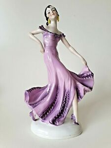Continental Porcelain Art Deco dancer figurine