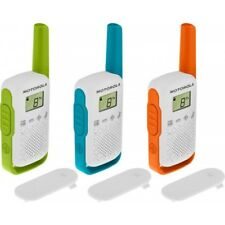 Motorola Talkabout T42 Walkie Talkie Triple Pack