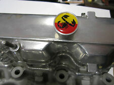 FIAT 124 SPIDER, 131 CAM COVER KNOBS, BILLET ALUMININUM,  ABARTH,  WITH WRENCH