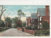 Western Road South Hayling Hampshire Vintage Postcard Lawrence 666b