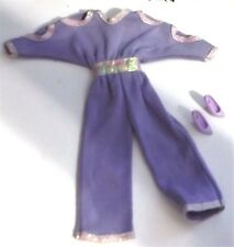 Vintage Barbie 1986 Jumpsuit 3661 Pet Show Fashion with Shoes