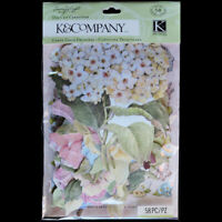New K&COMPANY Susan Winget Floral DIE CUTS CARDSTOCK Flowers Blossoms 58PC PACK
