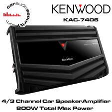 Kenwood KAC-7406 - 4/3 Channel Car Amplifier 800 Watts Speaker Amplifier Amp