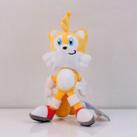 New Sonic the Hedgehog Yellow Anime Plush Soft Stuffed Toy Doll 8 inch Gift