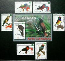 2015 Latin America, Birds & Souvenir Sheet, Red Tailed Hawk, Mnh