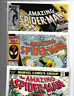 AMAZING SPIDERMAN MARVEL LOT OF 3 BRONZE AGE KEYS  *WOW #150, #279 and #268*