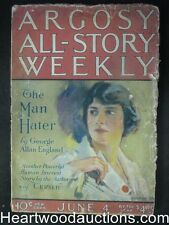 Argosy Jun 04, 1921 Hall + Flint Blind Spot classic Sci  Fi
