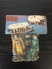 Star Wars Vintage Mexican Mexico Bootleg 3 pack B Wing Pilot Lando Skiff