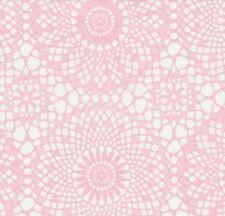 Klebefolie Möbelfolie rosa Spitzen Design 0,45 m x 15 m Dekorfolie selbstklebend