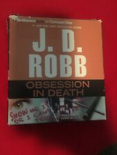 J.D. Robb Audiobook -Obsession  In Death -Cd