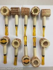 25 X Original Corn Cob Pipe NEW // FREE SHIPPING / MADE IN CHINA / SHIP FROM USA