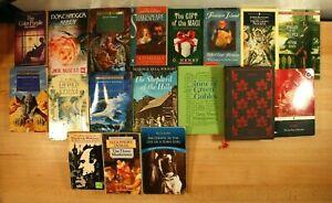 CLASSIC LITERATURE! Charlotte Bronte, Jane Austen! PB/HC, Lot of 18 Books