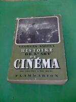 Georges Sadoul - Histoire de l'Art du Cinéma - Flammarion (1949)