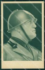 Fascismo Benito Mussolini cartolina QT5178