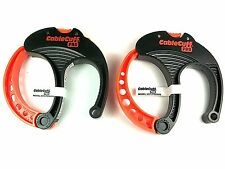 Cable Cuff PRO LARGE Adj & Reusable (2 Pack) CFLP030808 NEW! H1