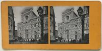 Firenze Cattedrale Italia Foto P39L9n11 Stereo Stereoview Vintage Analogica