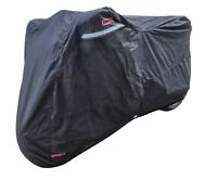 Bikeit Ventilated Large Indoor Dust Protection Cover For Motorcycle Motorbike
