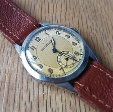 Jaeger LeCoultre Military gents watch Rare Cal 410, 1939/40