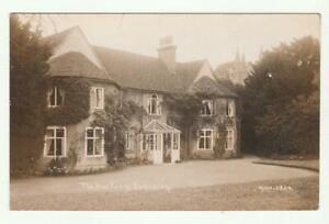 Early Real Photo Postcard UK Scotland ? The Rectory Eversley