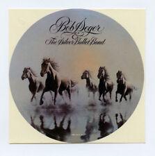 Bob Seger Sticker 1980 Against The Wind Promo Orignal Vintage